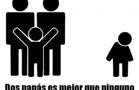 Le digo SÍ a la adopción igualitaria