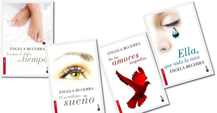 Libros de Ángela Becerra